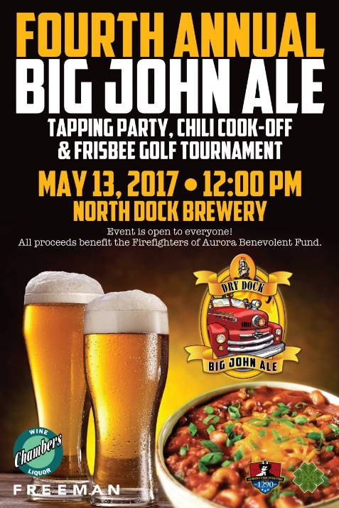 Big John Ale Tapping Party, Chili Cook-Off and Frisbee Golf Tourney